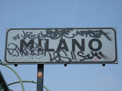 milano sign